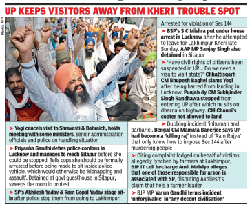 Kheri violence: Union min's son booked for murder, judicial inquiry ordered