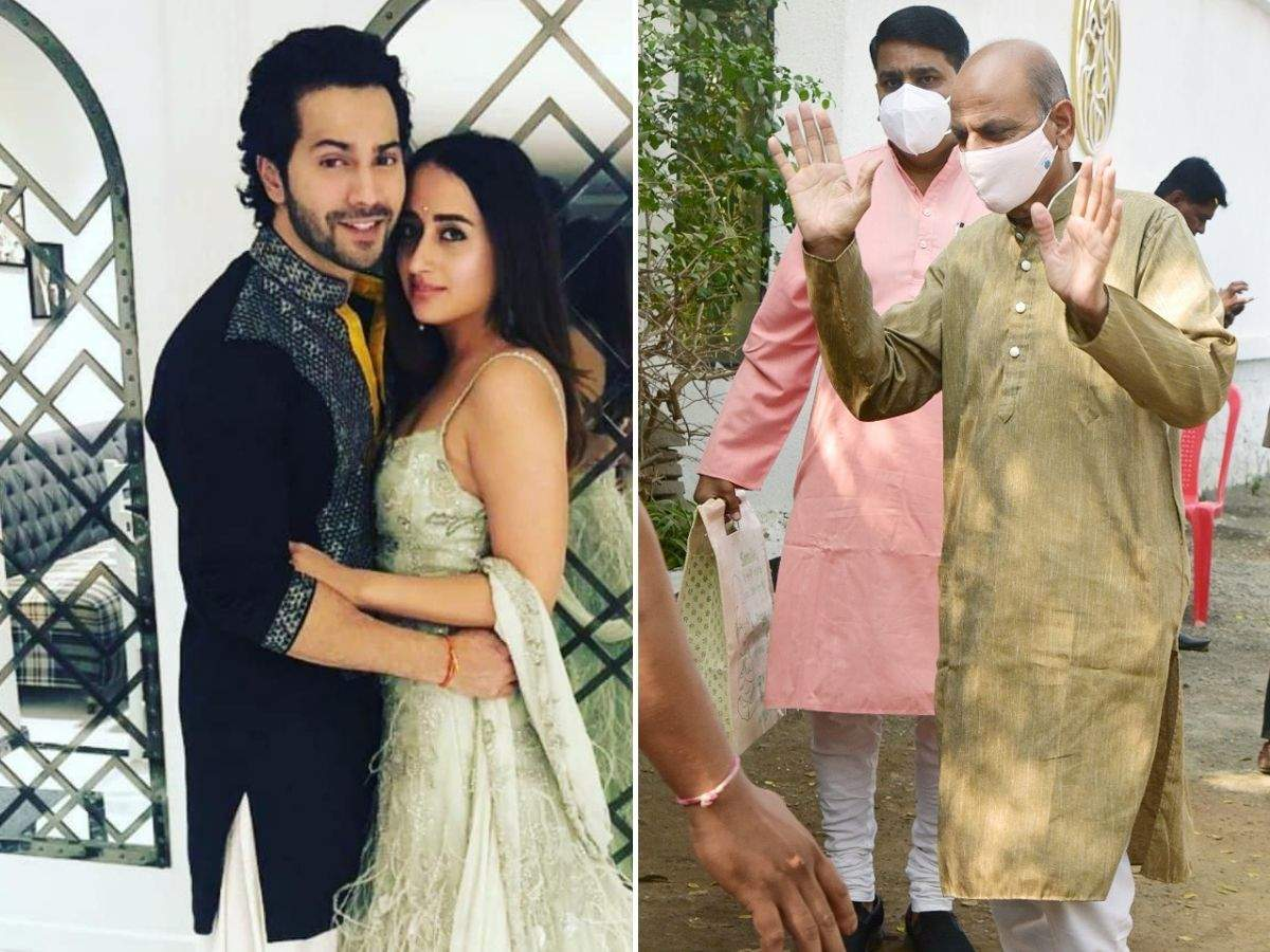 Varun and Natasha to get hitched this evening