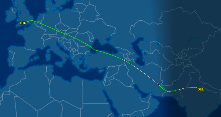 Hindu Kush route starts saving time, money on Air India nonstops between Delhi and the west