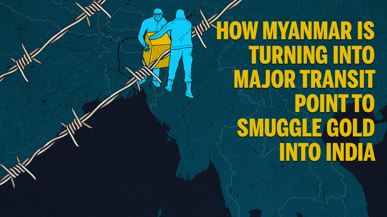 How Myanmar is turning into major transit point to smuggle