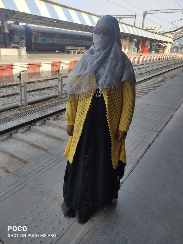 Thank you railways! Nazia did not miss her exam | India News