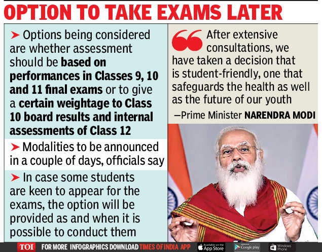 CBSE, CISCE Scraps Class 12 Board Exams: Everything You Need To Know | India News