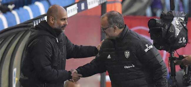 Marcelo Bielsa:  Don't agree with Pep Guardiola about me being the finest: Marcelo Bielsa | Football News - Times of India