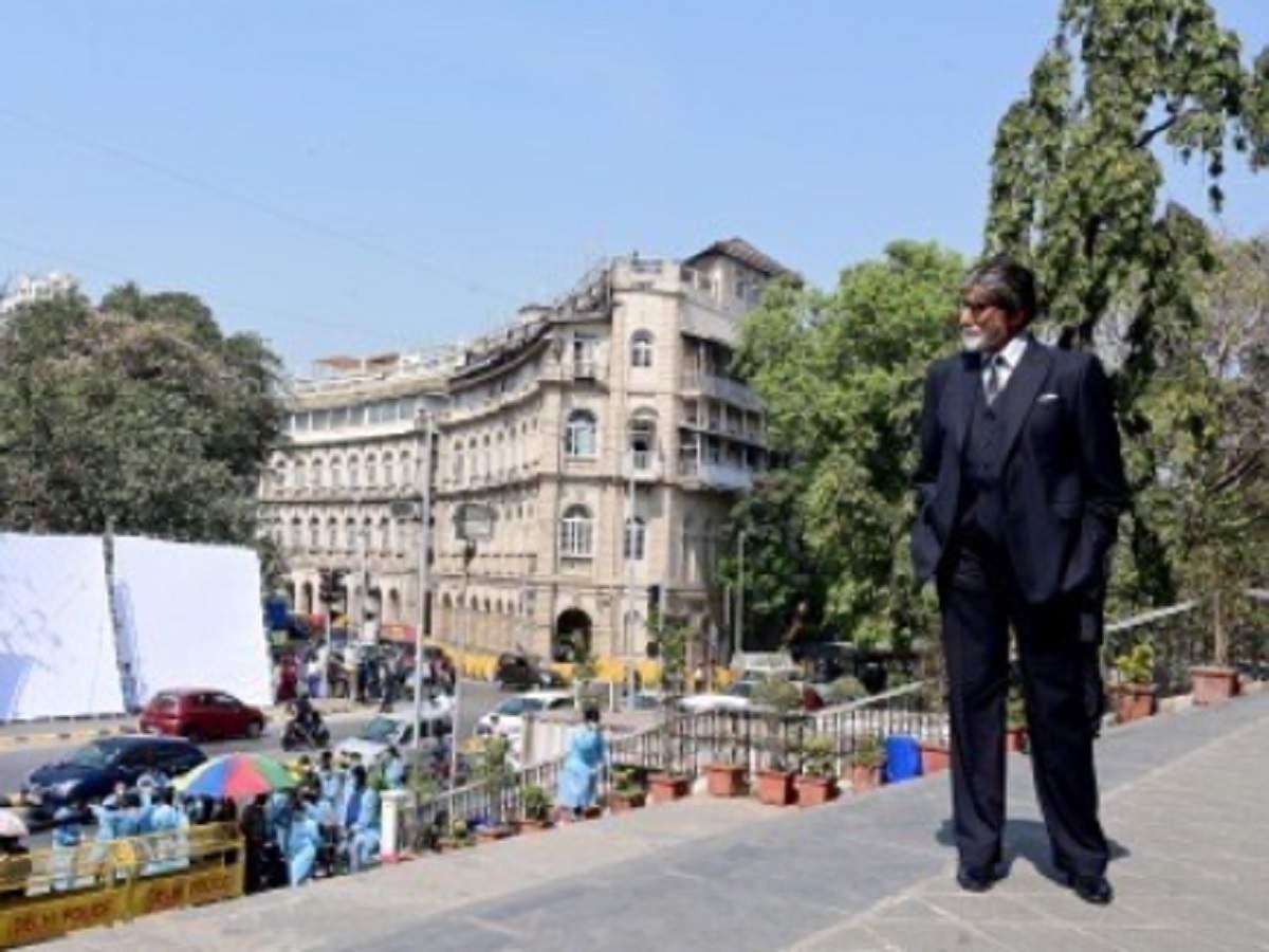 Amitabh Bachchan shoots at iconic Deewar location for Ajay Devgn's MayDay - Mumbai Mirror