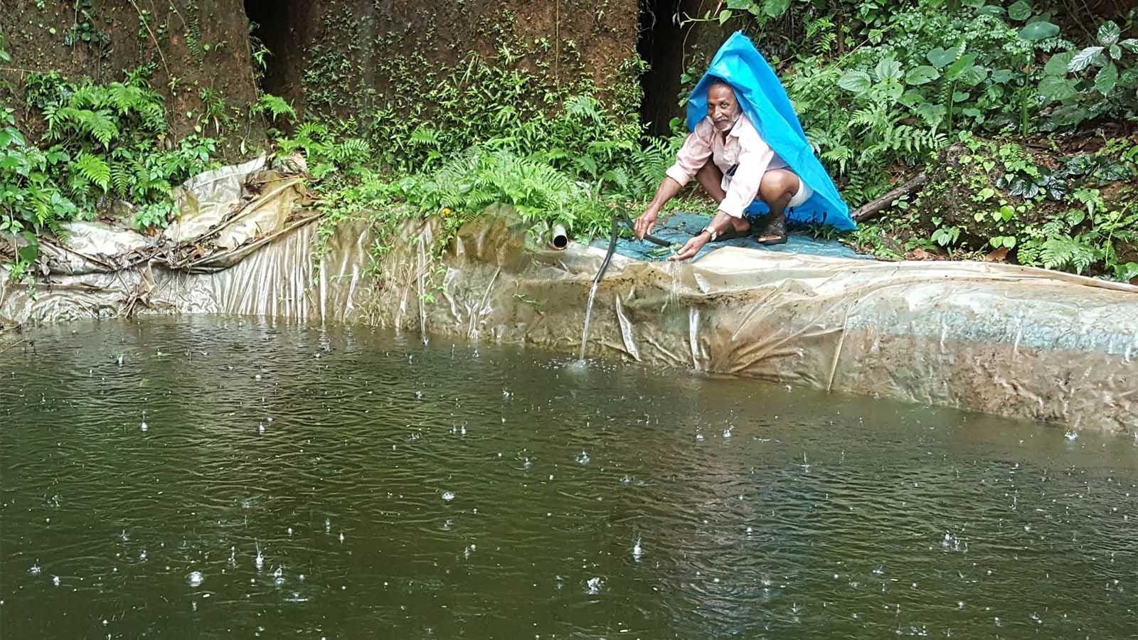 Kerala: kenis centenari, surangas riservano acqua