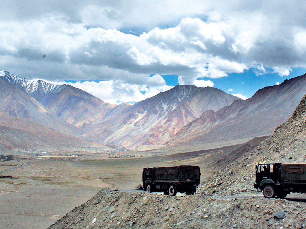 Chinese soldier captured on bank of Pangong Tso