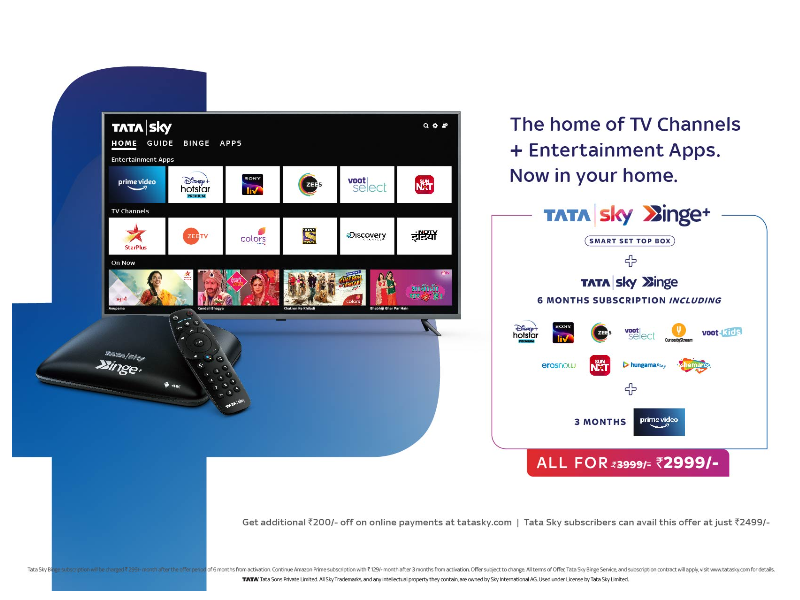 Smart viewing for Smart people with Tata Sky Binge+: The Smart Set top box  - Times of India
