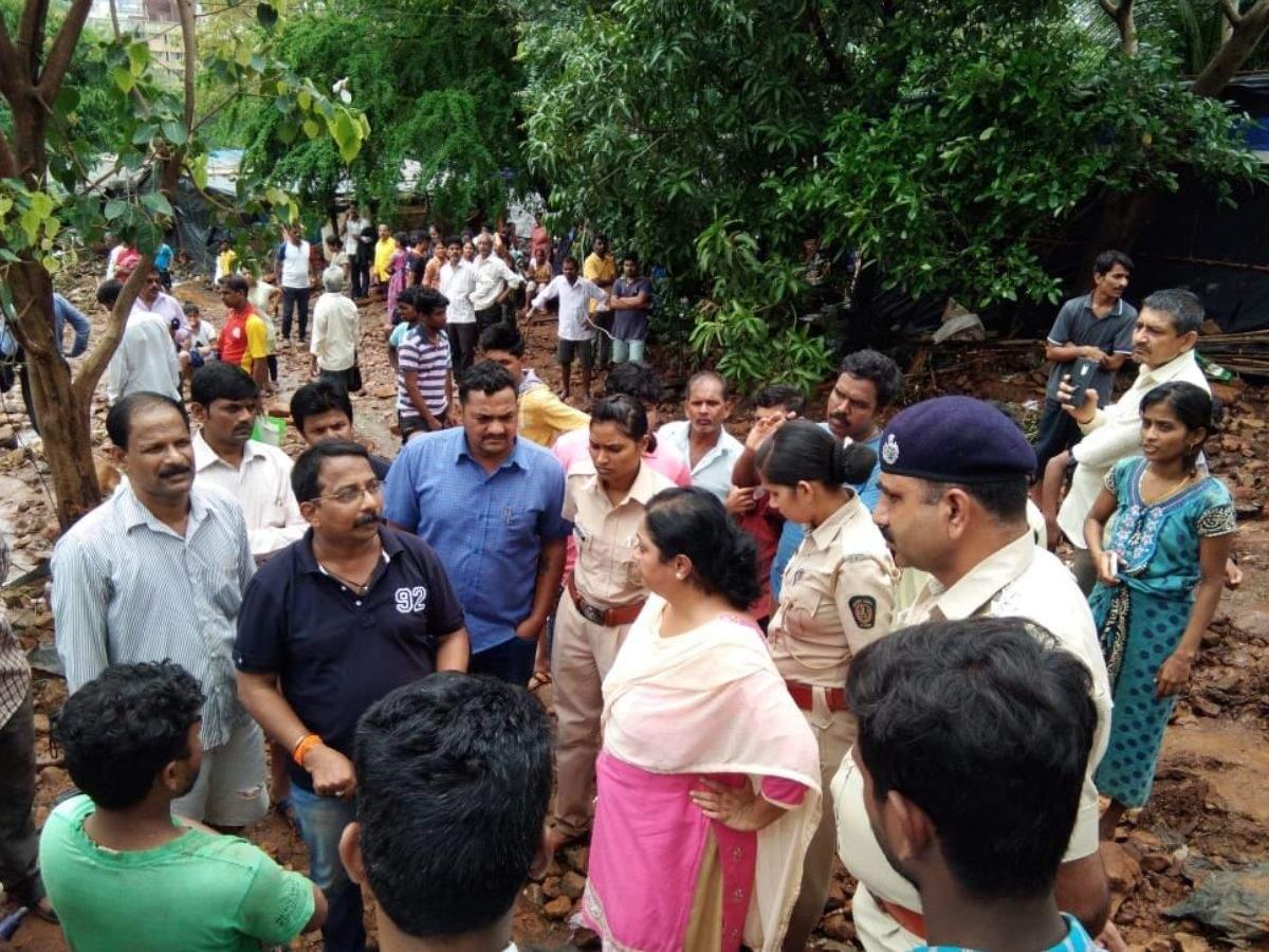 Sanjay Gandhi National Park director Jayoti Banerjee attacked at Malad wall collapse site