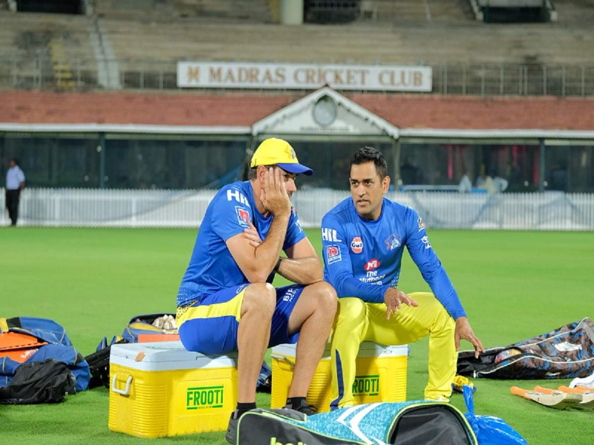 ipl 2019: MS Dhoni plays catch me if you can with a fan again!