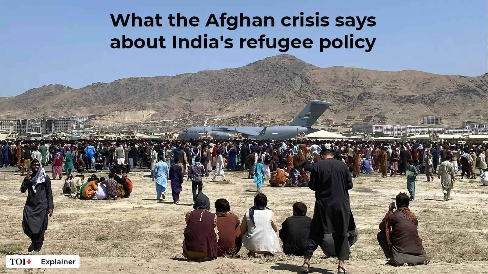 What the Afghan crisis says about India's refugee policy - Times of India