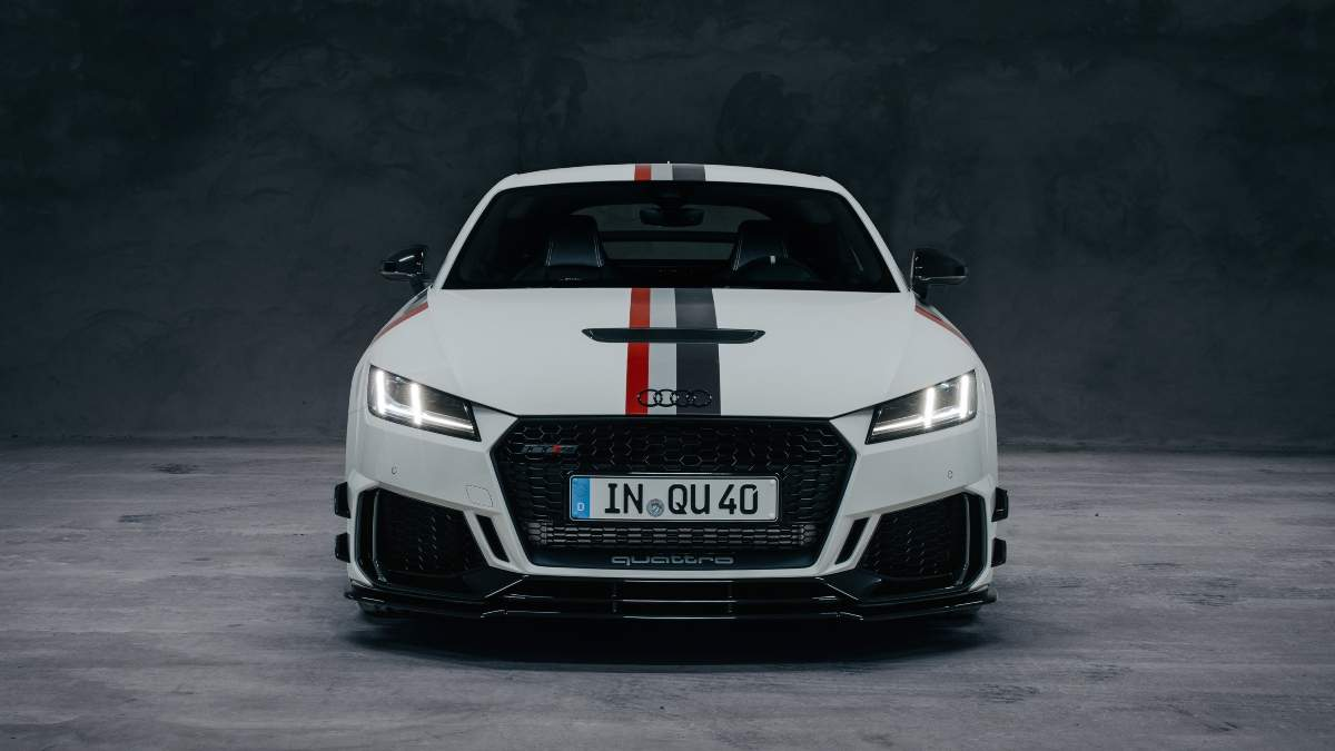 Audi TT RS Limited Edition Launch: Audi TT RS '40 years of ...