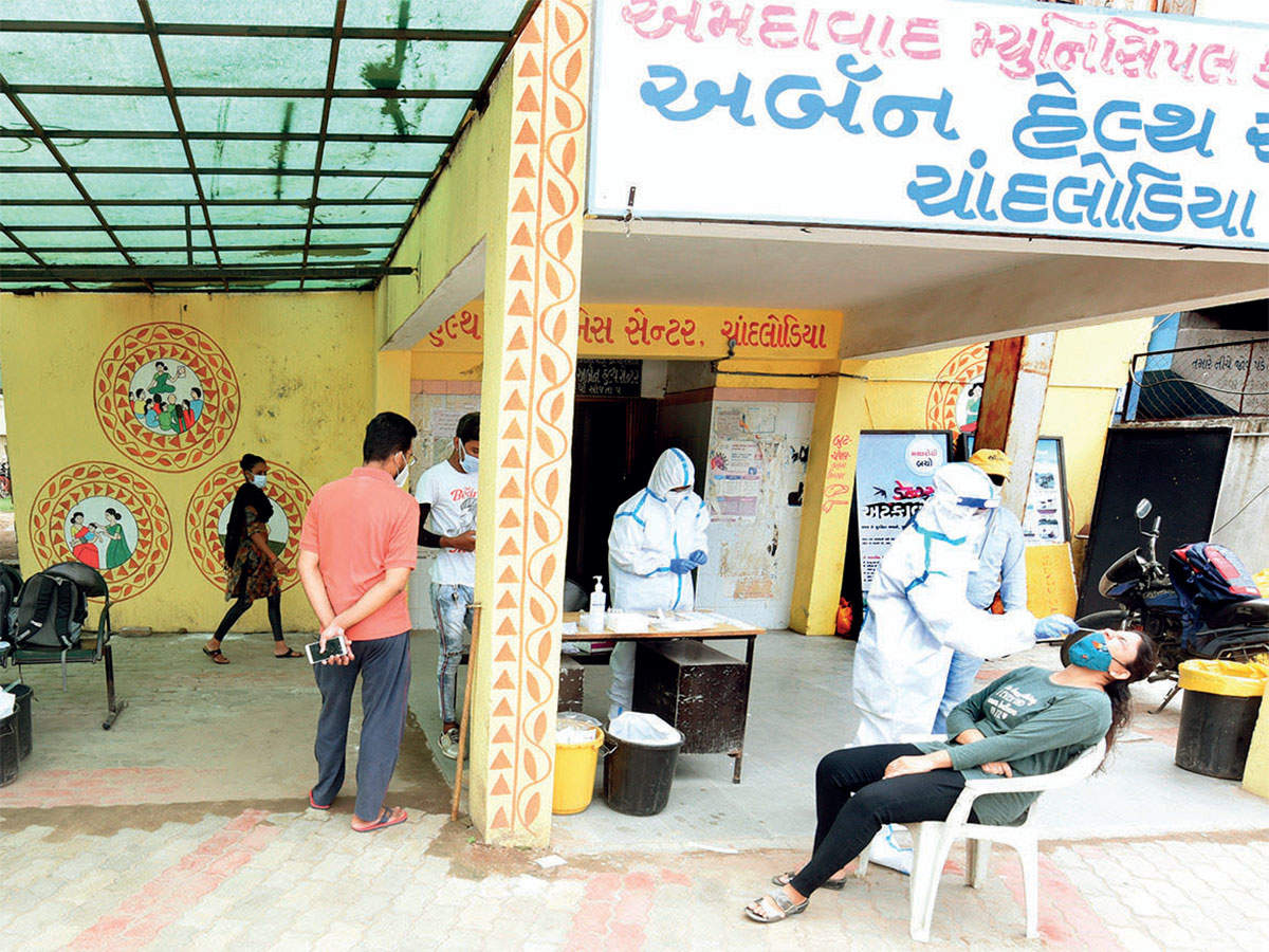Rapid rise in Covid-19: With 1,334  cases, Gujarat nears mark of 1.15L