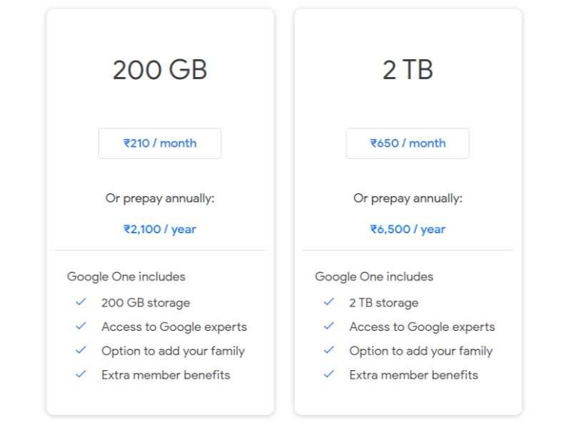 Google One vs Apple One: How the two compare - Times of India