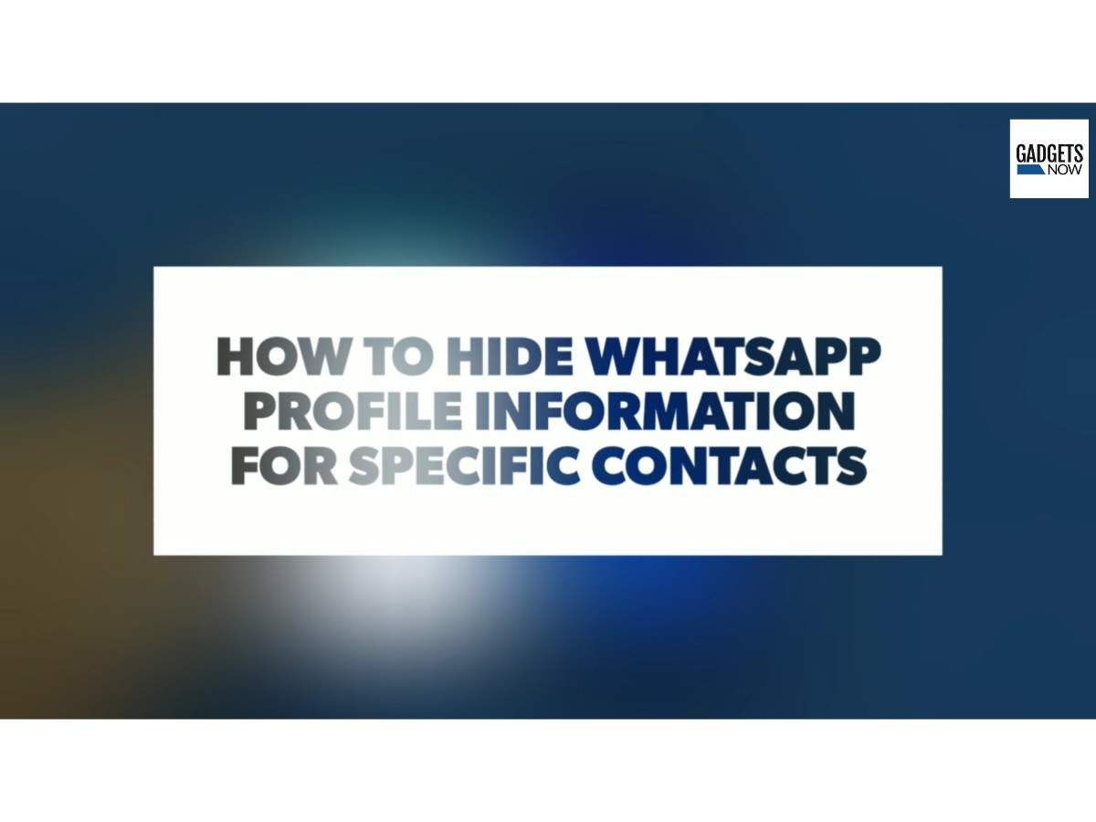 Hide whatsApp profile picture: How to hide WhatsApp profile picture