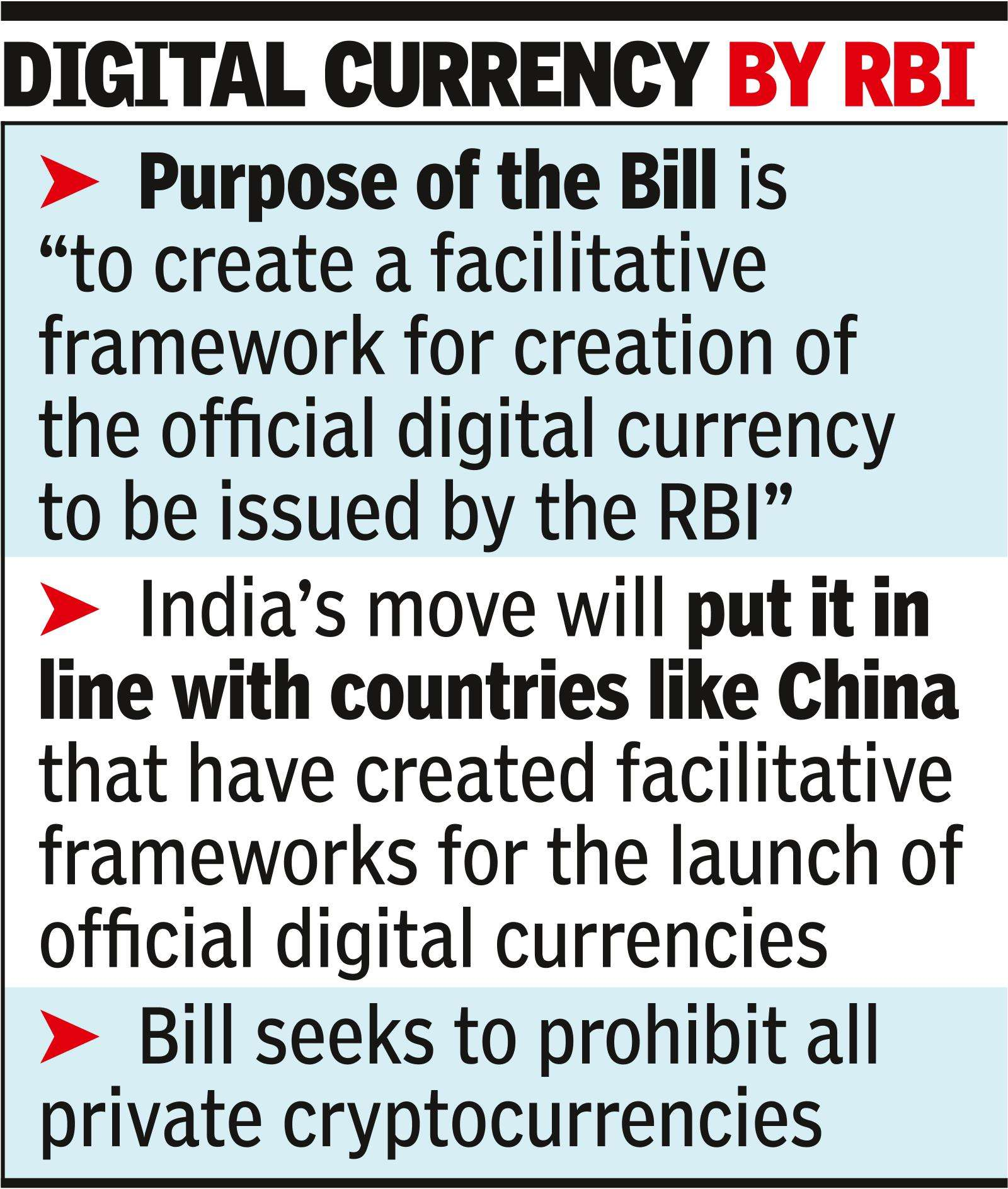 Budget 2021: Bill to ban private cryptocurrency likely in budget session of  Parliament   India Business News - Times of India
