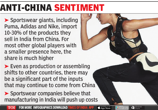 Sports goods giants plan local production