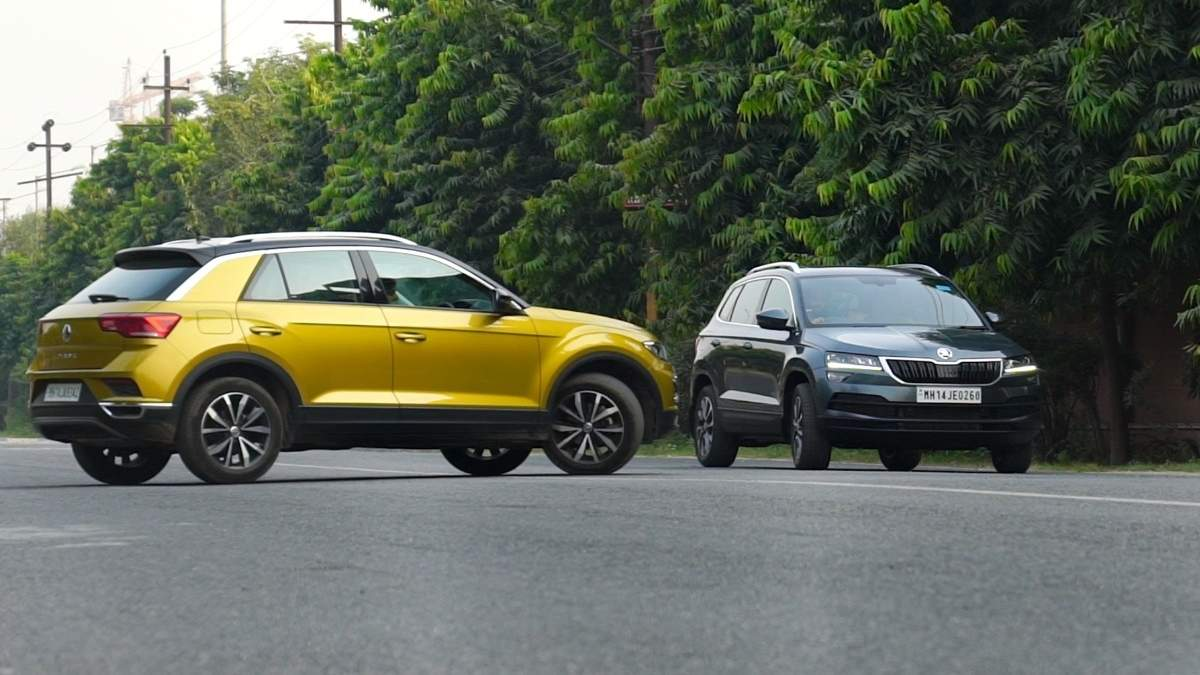 , Volkswagen T-Roc v Skoda Karoq: Classy clash within family – Times of India,