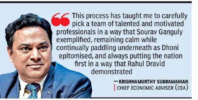 CEA Krishnamurthy Subramanian to return to academia