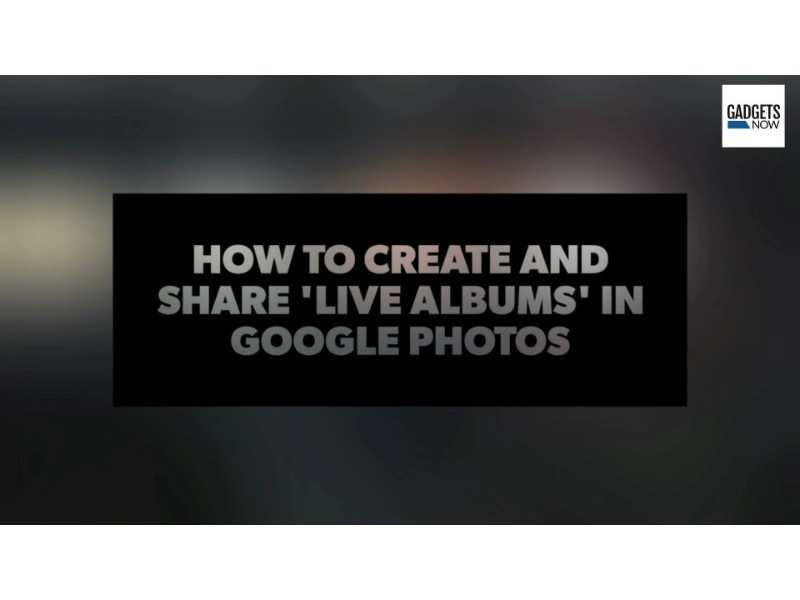 How to create and share 'Live Albums' in Google Photos