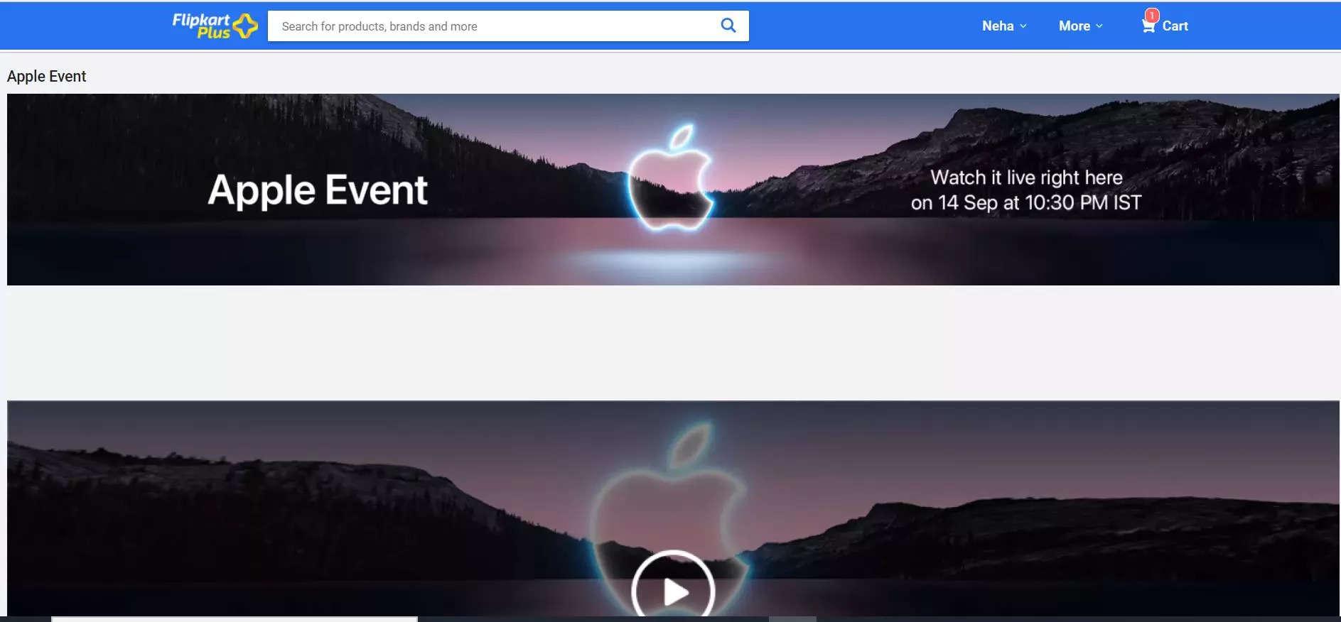 Apple iPhone 13 launch event to telecast on Flipkart