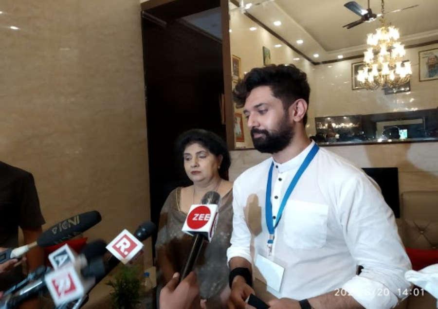 Chirag Paswan to Launch 'Ashirwaad Yatra' from Hajipur   India News