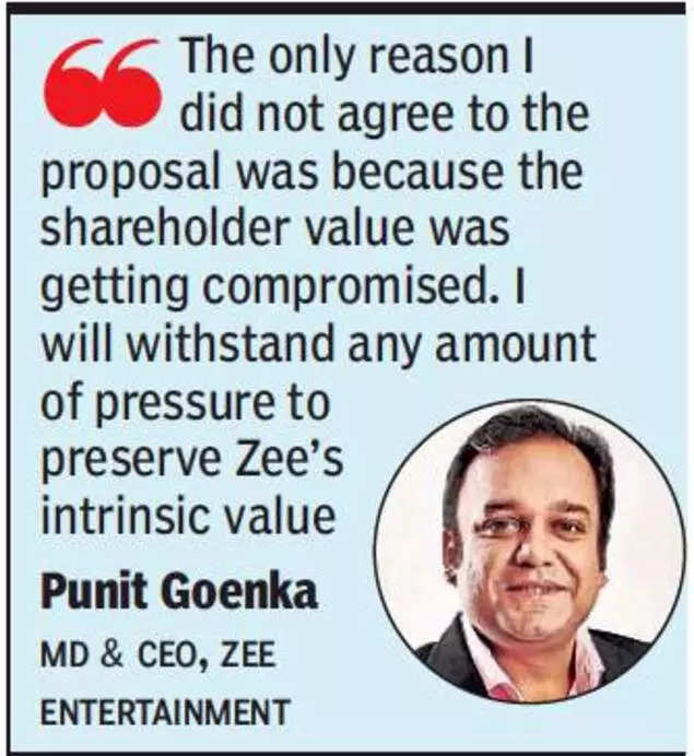 Zee asks why Invesco didn't make its plans public earlier