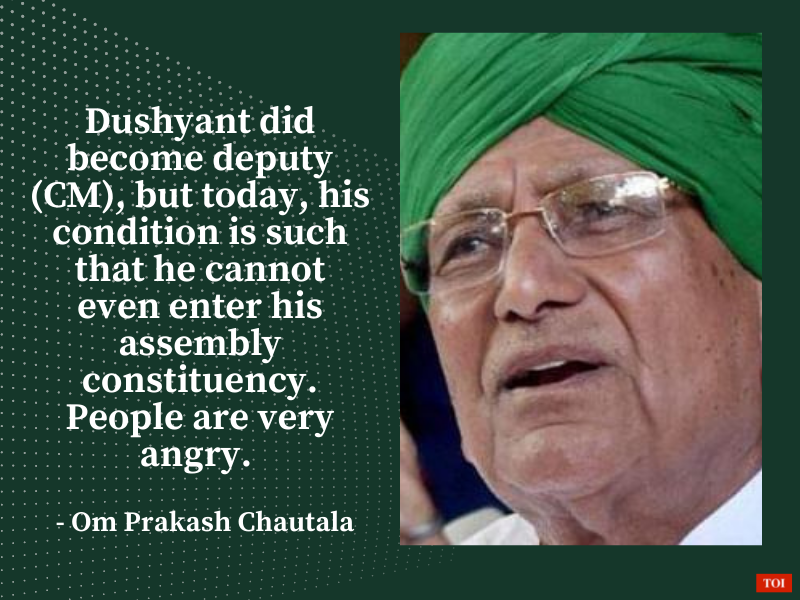 There's every possibility of mid-term polls in Haryana: OP Chautala