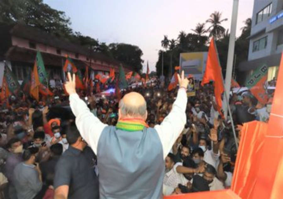 Rahul Gandhi is a tourist politician, says Amit Shah in Wayanad | India News