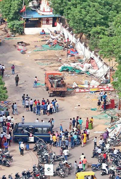 Ahmedabad: Law Garden Khau Galli no more
