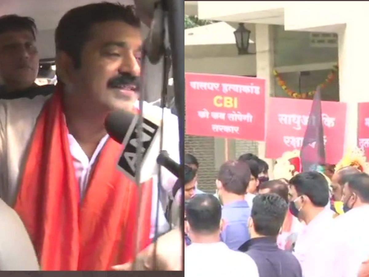 Palghar Lynching Case: BJP's Ram Kadam detained by Mumbai Police - Mumbai Mirror