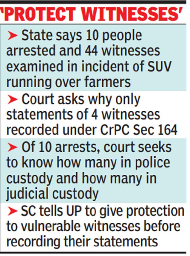 Kheri probe can't be unending story, Supreme Court tells Uttar Pradesh
