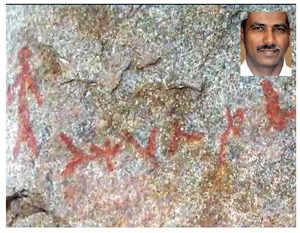 Prof sees Harappan script in Hampi