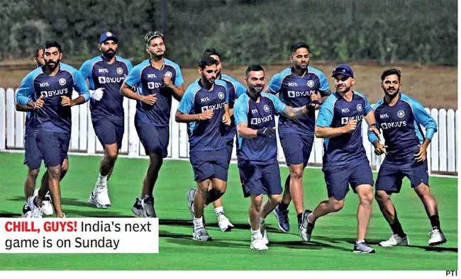 T20 World Cup: Team India welcomes unusually long break