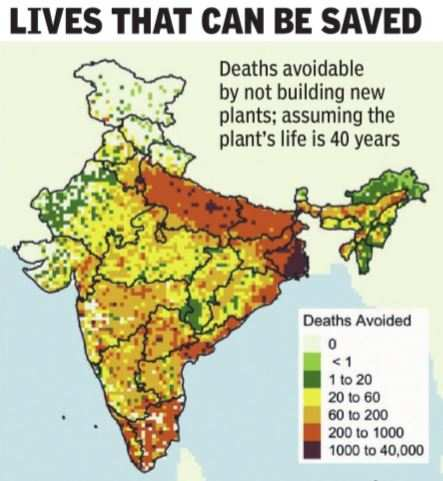 'Planned thermal plants could kill 8.4 lakh people' |  India News