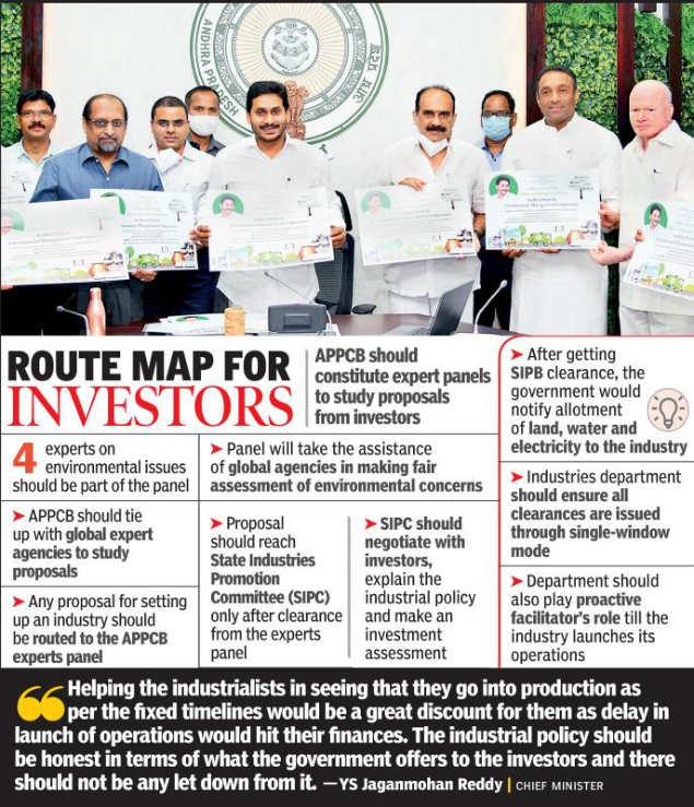 Andhra Pradesh: CM YS Jaganmohan Reddy calls for a balance in industrial growth and environmental protection   Amaravati News