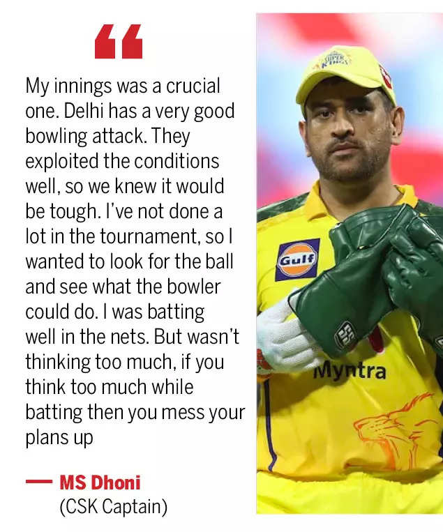 No threat of spin made Dhoni promote himself ahead of Jadeja