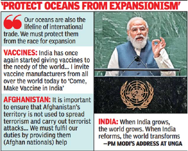 'Using terror as political tool dangerous': PM Modi slams Pakistan