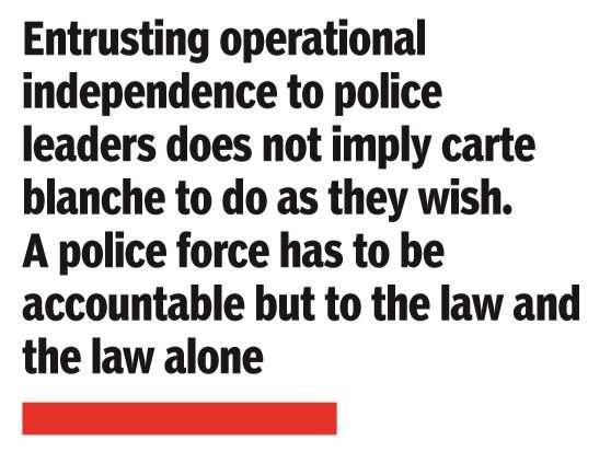 Times Face-off: Time to loosen political grip on the police? | India News