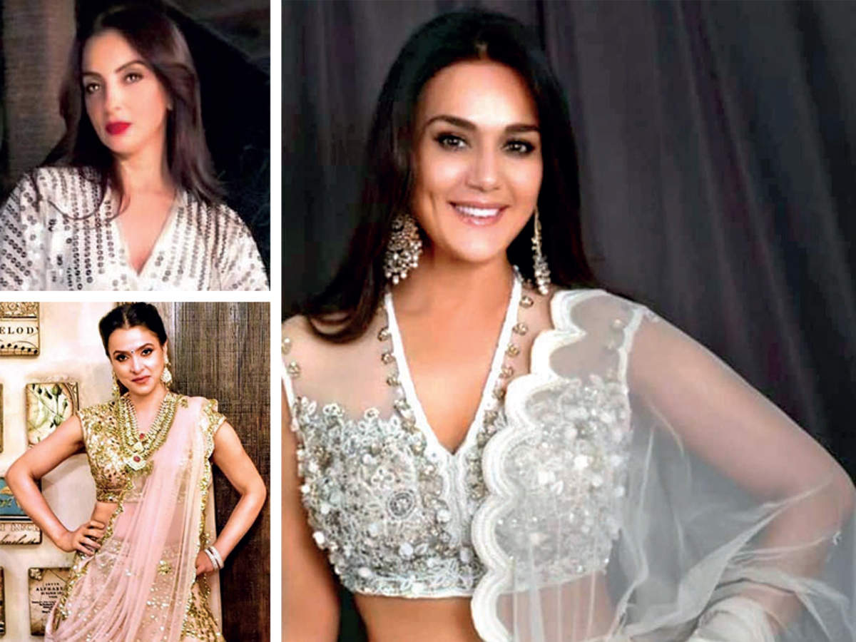 Bollywood Malaika Arora Preity Zinta Tania Deol Fall In Love With Seema Khan S Label