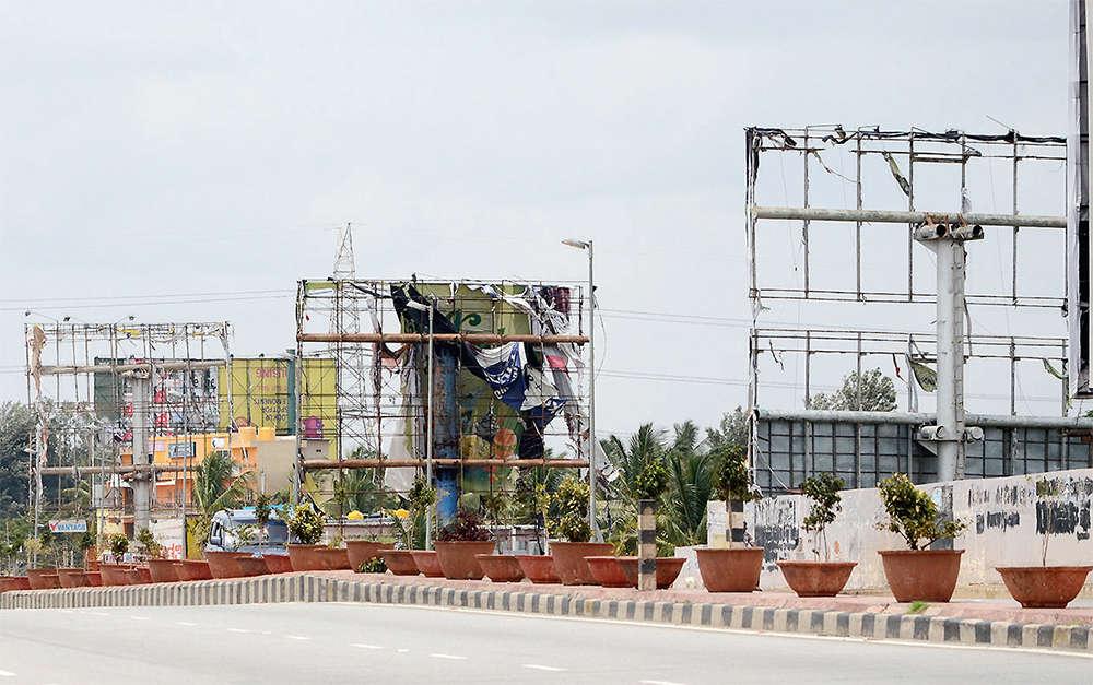 Bengaluru: Legal hoardings will be back