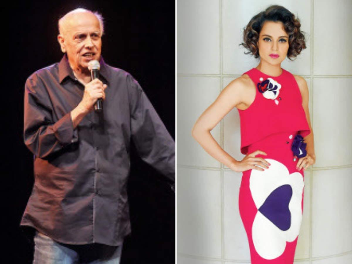 Kangana Ranaut is a 'bachchi': Mahesh Bhatt