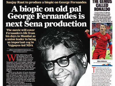 George Fernandes's wife objects to biopic plan