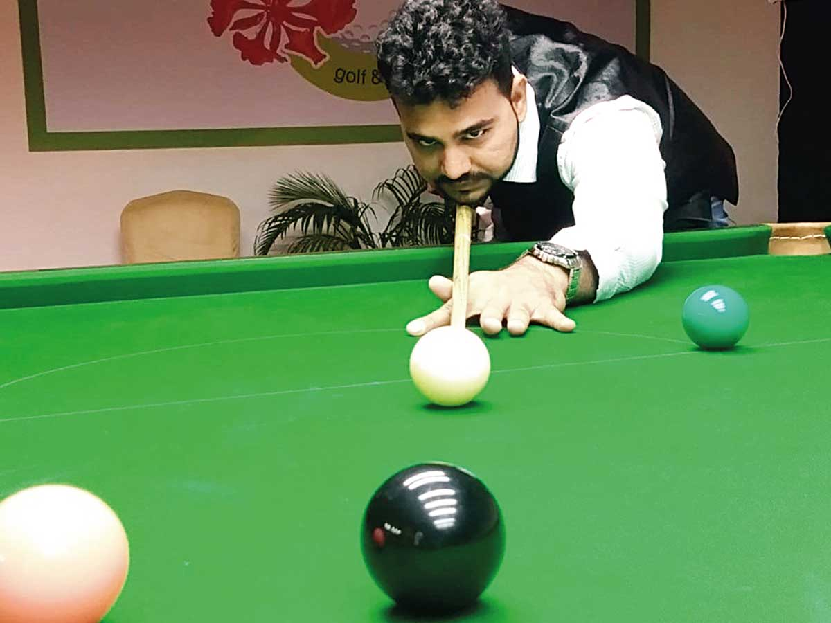 Bhadresh records comeback win at Gujarat State Open Ranking Snooker and Billiards Tournament - Ahmedabad Mirror