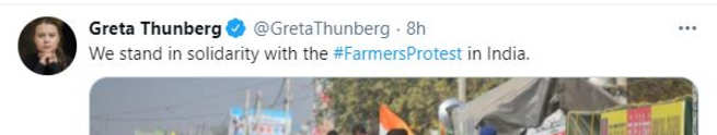 After Thunberg and Rihana, Kamala Harris 'Niece Tweets in Support of Farmers' Protest in India | India News