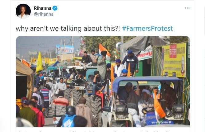 Farmers' protests turn into a world war on social media as celebrities unite |  India News