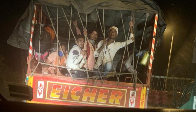 Migrant Caravan: an endless caravan of misery as migrants walk home | India News