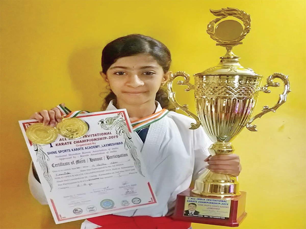 Bengaluru: Bengaluru's Karate kid does it again