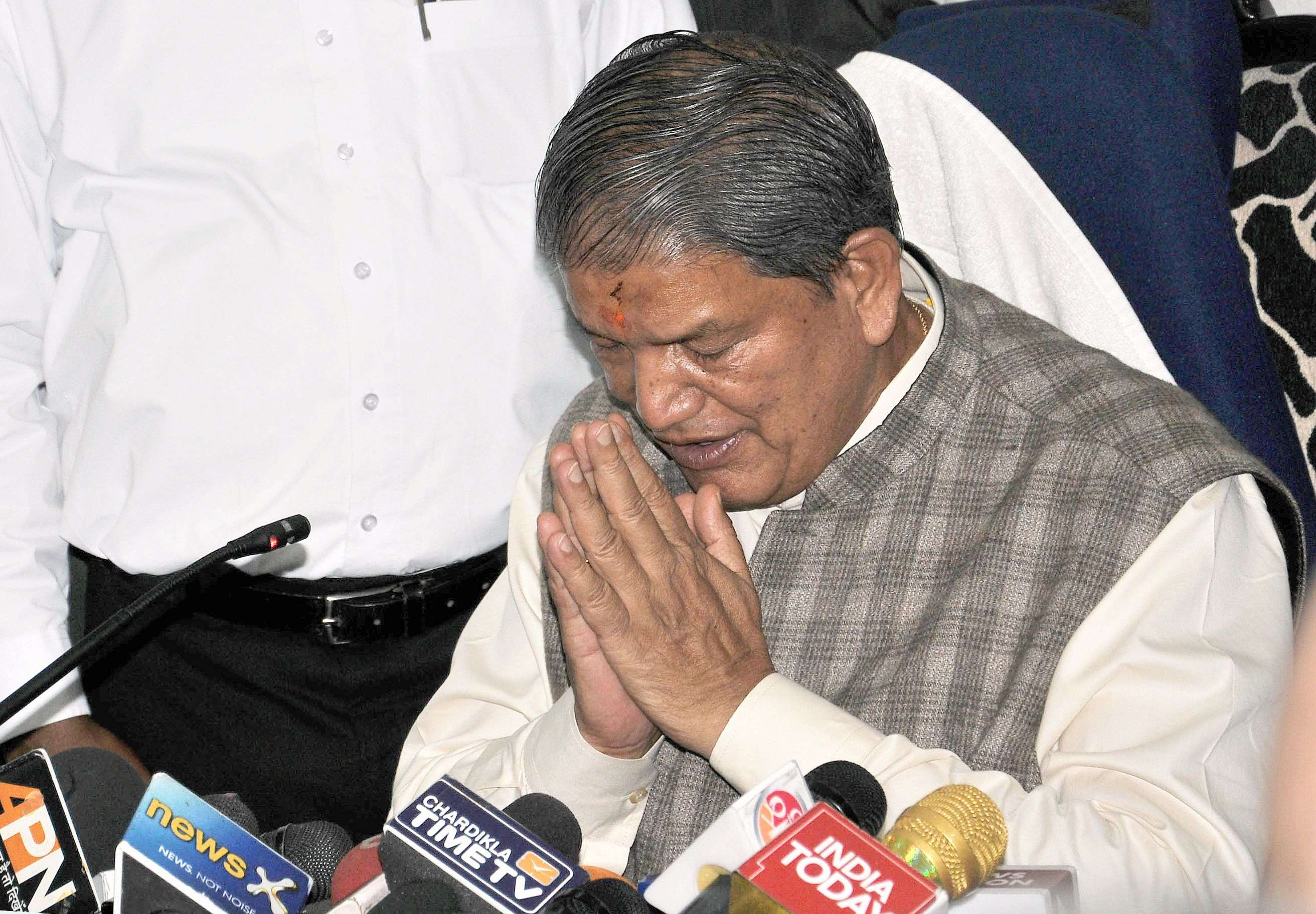 Anarchy Nation Pictures uttarakhand crisis: bjp establishing 'anarchy' in nation