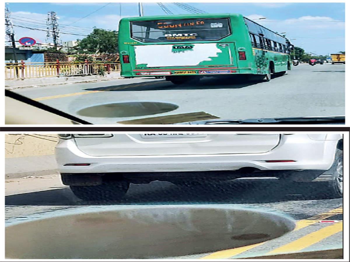 Cars enter bus lane on Outer Ring Road - Bangalore Mirror