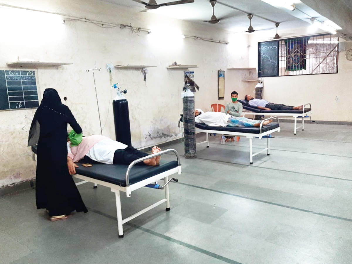 Bhiwandi mosque opens the door to all in need of oxygen